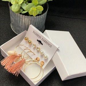 Fashion Earrings Set w/ Gift Box